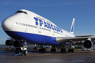 VP-BGX B747-400 Transaero (Arrived on 3rd for storage)