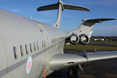 XV108/Y VC-10 C1K RAF 101SQ (Arrived 7Nov for scrapping)