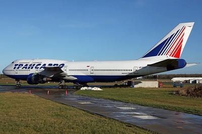 VP-BGY B747-400 Transaero (Arrived on 29Oct for storage)