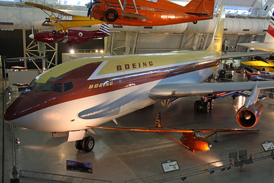 N70700 B367-80(B) (17158) Boeing Aircraft Co. Prototype B707, first flown on 15/7/54, with final flight Seattle-Dulles on 27/8/03.