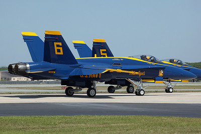 163093/6 F/A-18A US Navy 'Blue Angels'