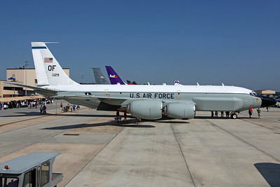62-4129/OF TC-135W USAF 38RS/55Wg. Rivet Joint trainer.