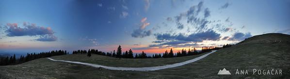 Panorama after sunset