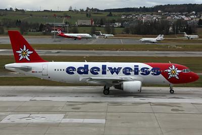 HB-IHY A320-200 Edelweiss Air