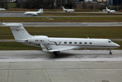 HB-IMJ Gulfstream 5 G5 Executive AG