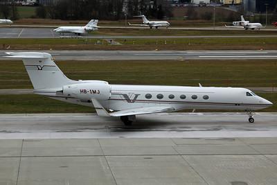 HB-IMJ Gulfstream 5 G5 Executive AG
