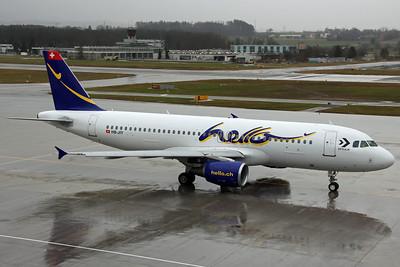HB-JIY A320-200 Hello Air
