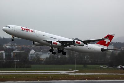 HB-JMK A340-300X Swiss International