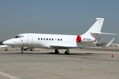 OY-CLN Falcon 2000EX Air Alsie/Danfoss Group