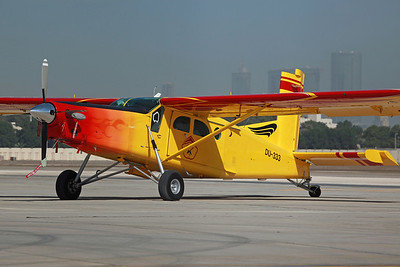 DU-333 PC-6 Fazza Sky/Nasser Al Neyadi. Operates from Skydive Dubai centre (Next to The Palm, Dubai).