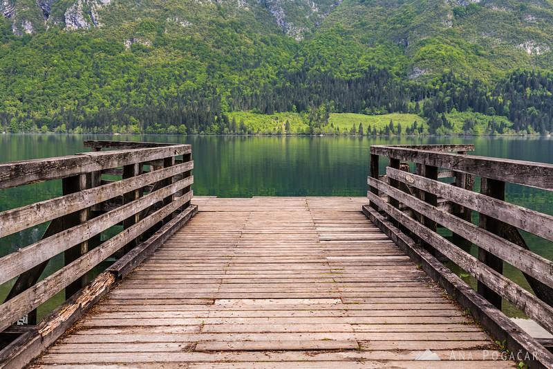Pier at Lake Bohinj