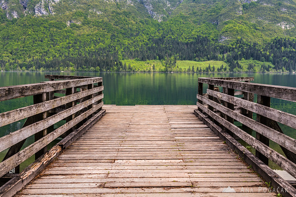Pier at Lake Bohinj