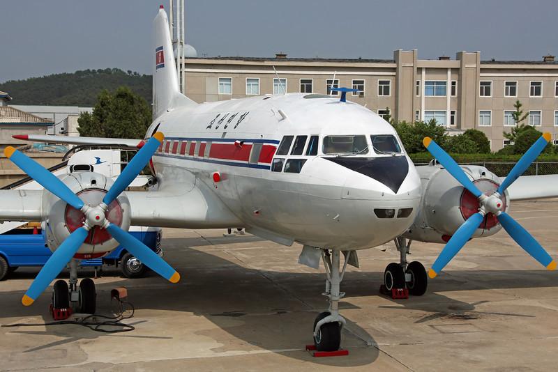 535 IL-14P CAAK. Preserved Pyongyang 4/6/13.
