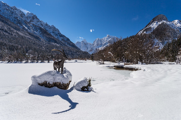Lake Jasna near Kranjska Gora