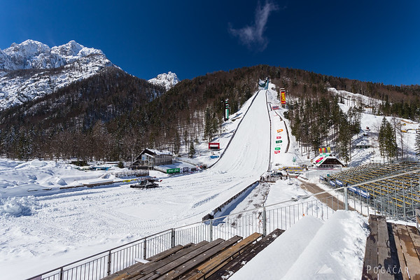 Planica ski flying hill