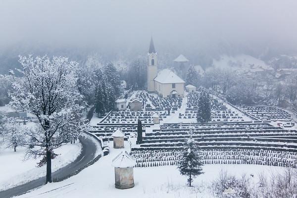 Žale - Kamnik cemetery