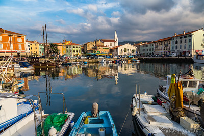 Izola on a warm fall day - Oct 19, 2013
