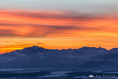 Kriška planina - Jan 31, 2013