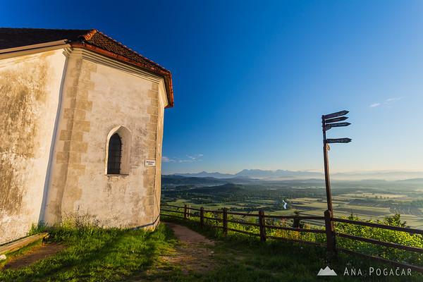 St. Ana church after sunrise