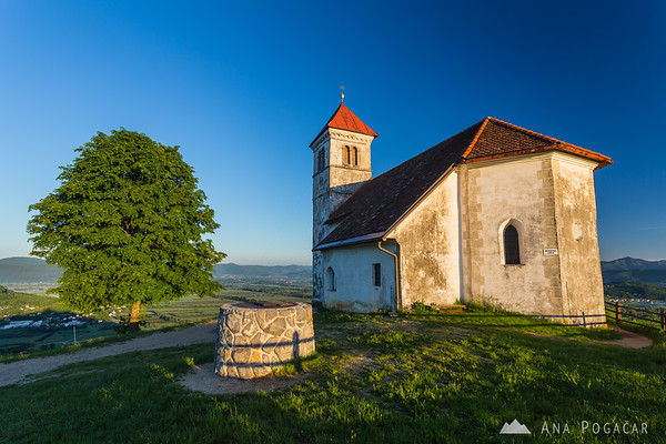 St. Ana church after sunrise