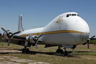 N89FA ATL-98 Carvair South African Air Lease LLC 'Fat Annie Miss 1944'. Gaineseville 4/5/13.