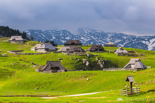 The village of Velika planina