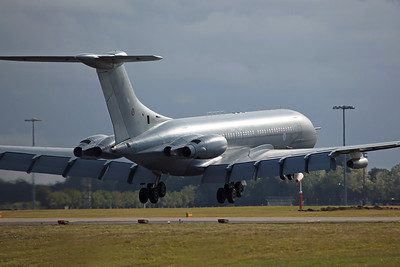 XV106/W VC-10 C1K RAF 101Sq RRR857. Returning home from Marham Families Day. BZZ 11/8/11