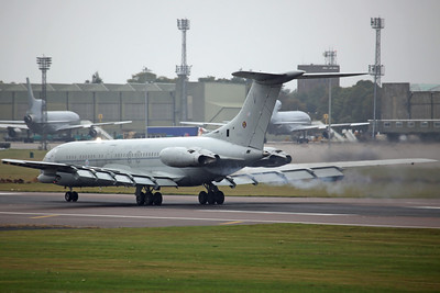 XV105/V VC-10 C1K RAF 101Sq RRR843. Taking part in the 'Party In The Park' Families Day flypast. Was retired and ferried to Bruntingthorpe on 30th August for scrapping. BZZ 20/8/11