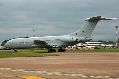 XV101/S VC-10 C1K RAF 101Sq. Departing RIAT Fairford 2008.
