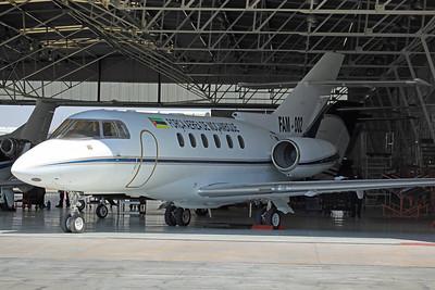 FAM-002 Hawker 850XP Mozambique AF