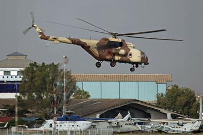 KAF1101 Mi-171E (4308) Kenyan AF (Based at Nairobi-Moi AFB)