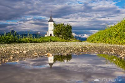 Late afternoon on Jamnik - Jul 13, 2014