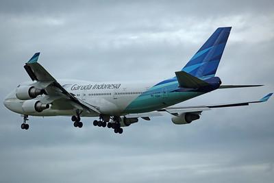 PK-GSH B747-400 Garuda