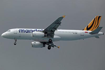 PK-RMQ A320-200 Tigerair Mandala