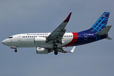 PK-CLI B737-500(WL) Sriwijaya Air