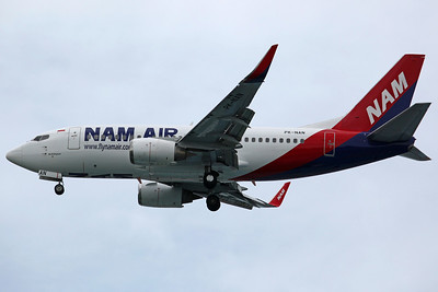 PK-NAN B737-500(WL) Nam Air (LCC subsidiary of Sriwijaya Air, just entered service),