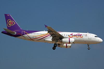 HS-TXE A320-200 Thai Smile