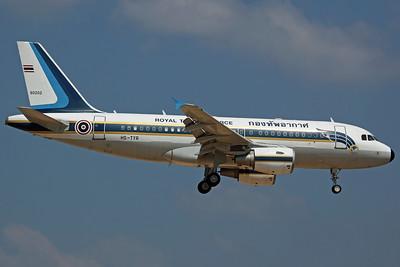 60202/HS-TYR A319-100CJ RTAF 602Sq (Royal Flight)