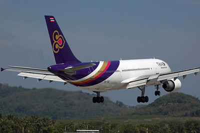 HS-TAZ A300B4-600R Thai Airways