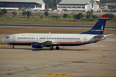 HS-GTB B737-400 City Airways (Still in ex US Airways colours)