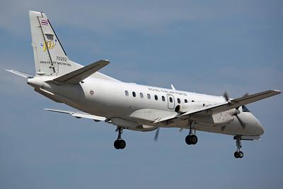 70202 Saab 340B RTAF 702Sq (with special RTAF 100th Anniversary tail markings)