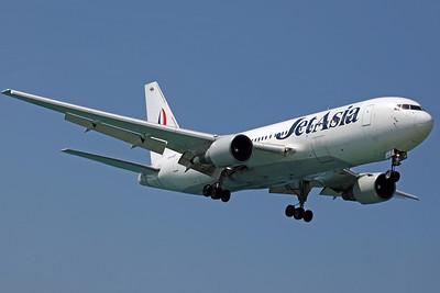 HS-JAB B767-200 Jet Asia
