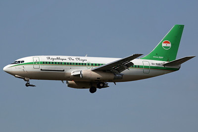 5U-BAG B737-200C Niger Government 'Niger 001' (arriving via Marseille)