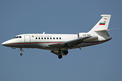 LZ-001 Falcon 2000LX Bulgarian AF