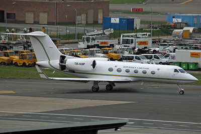 TR-KSP Gulfstream 4SP Gabon Government 'RCA1' (operating for the Central African Republic Government)