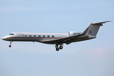 5X-UGF Gulfstream 550 Uganda Government