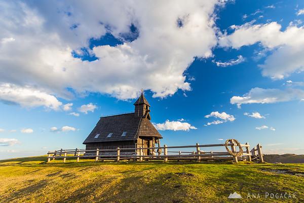 Chapel on Velika planina