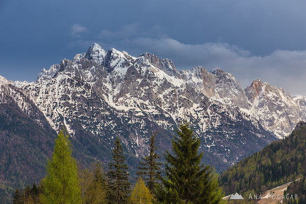 Julian Alps from Podkoren