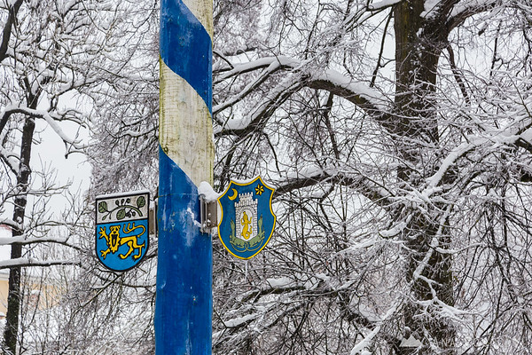 After the ice and snow storm in Kamnik