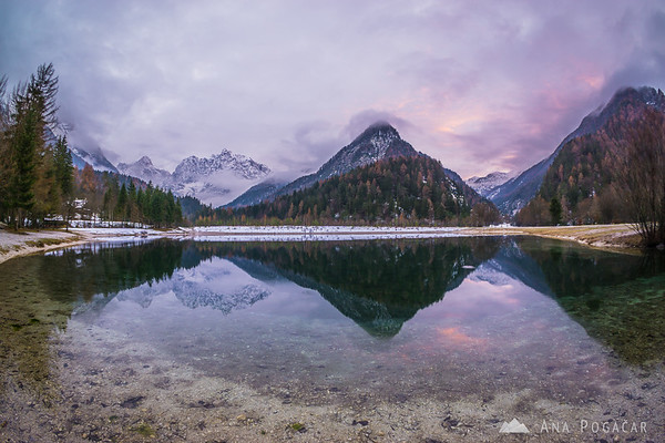 After sunset at Lake Jasna